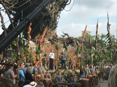 Pandora Dedication with Bob Iger and James Cameron